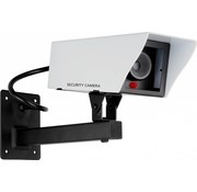 Smartwares Smartwares Metalen Dummy Camera - Wit