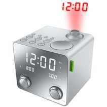 Muse M-189 PMR Wekkerradio met LED Projectie