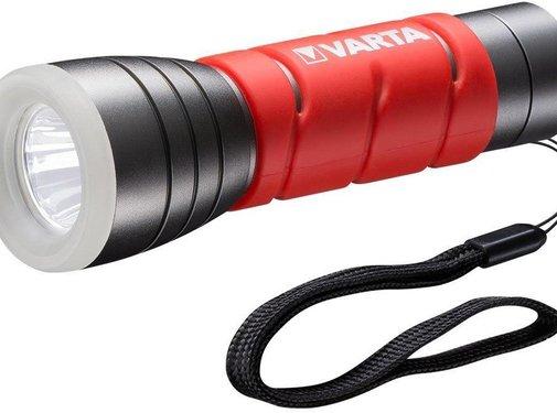 Varta Varta LED Outdoor Sports Zaklamp 3 AAA - Rood