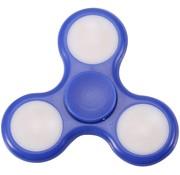 LED Fidget Hand Spinner - Mat Blauw