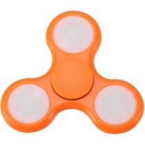 LED Fidget Hand Spinner - Mat Oranje