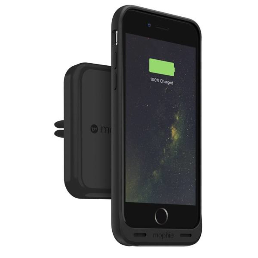 Mophie Charge Force Vent Mount  - Black-1