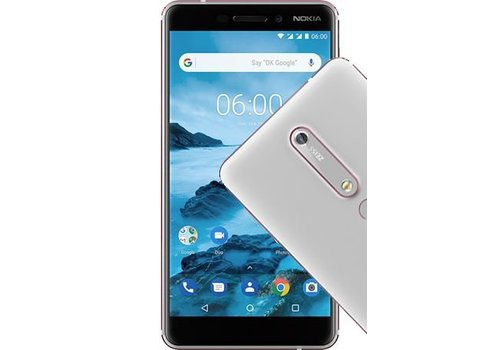 Nokia 6 2018 White Silver