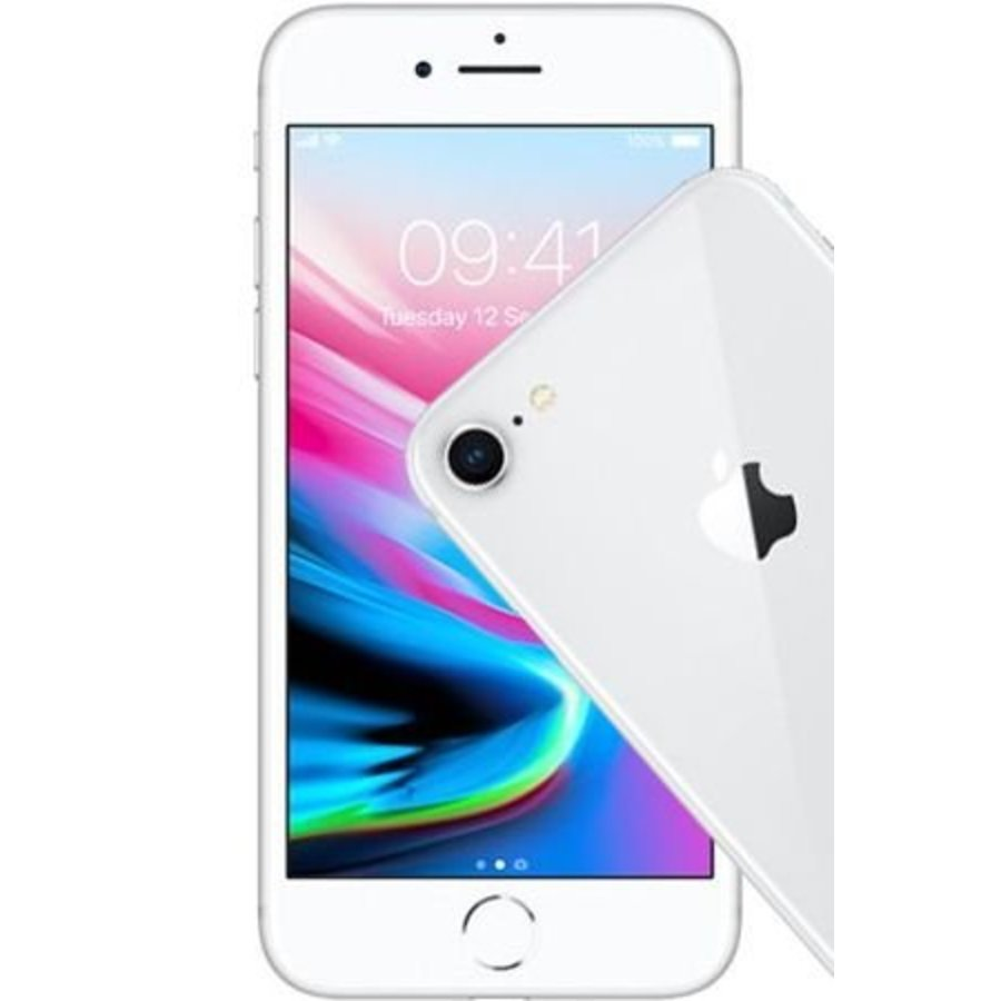 Apple iPhone 8 256GB Silver (256GB Silver)-1