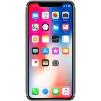Apple iPhone X 64GB Silver (64GB Silver)