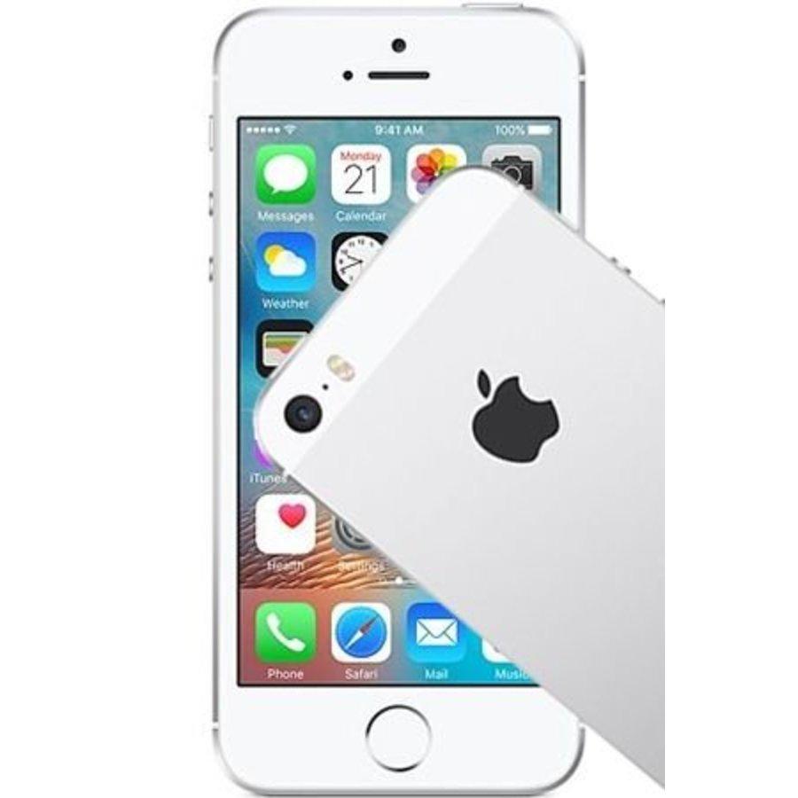 Apple iPhone SE 128GB Silver (128GB Silver)-1