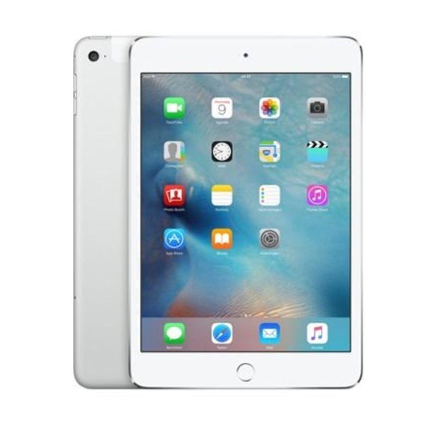 Apple iPad mini 4 WiFi + 4G 128GB Silver (128GB Silver)-1