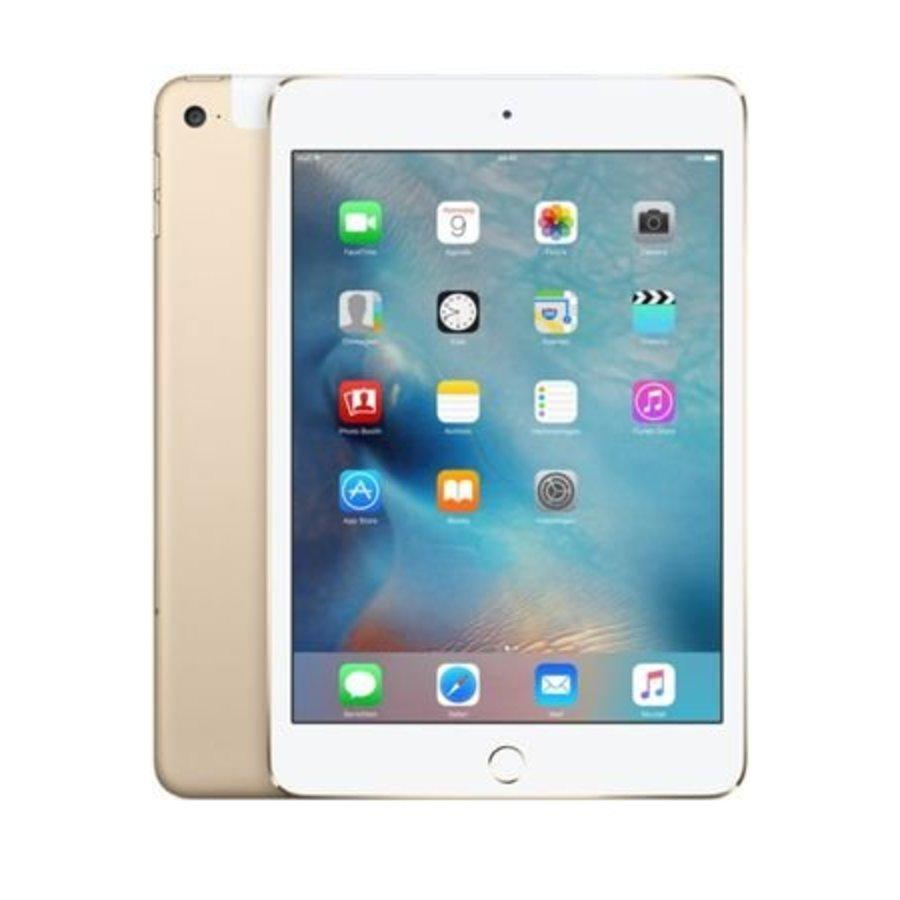 Apple iPad mini 4 WiFi 128GB Gold (128GB Gold)-1