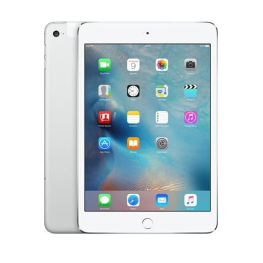 Apple iPad mini 4 WiFi 128GB Silver (128GB Silver)-1