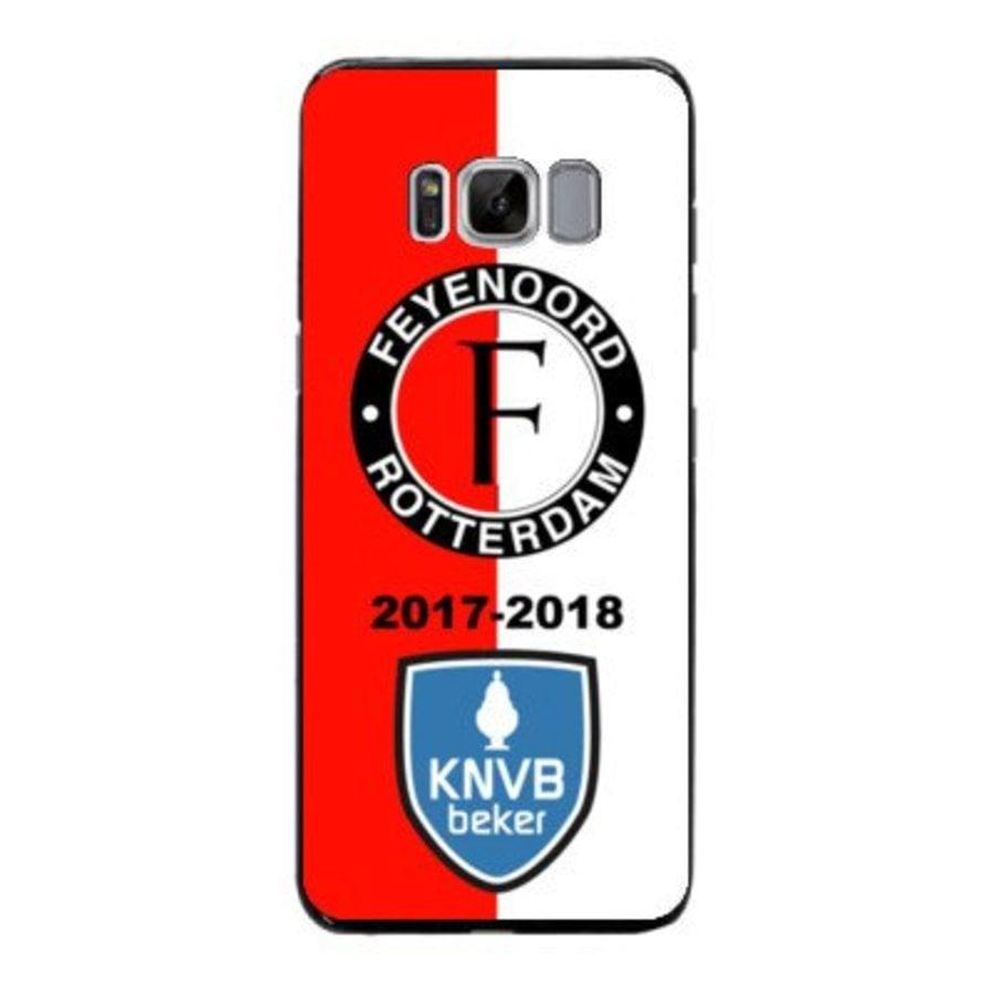 Feyenoord bekerwinnaar 2017-2018 Samsung Galaxy S8