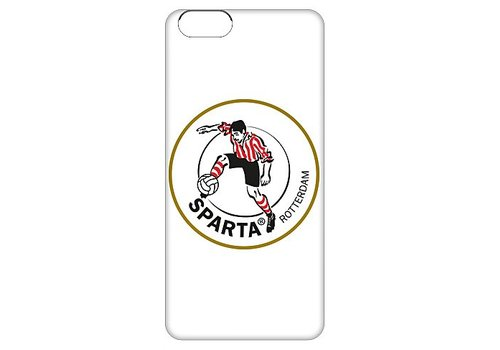 Sparta Rotterdam hardcover iPhone 6(S)  - wit