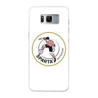 Sparta Rotterdam hardcover Samsung Galaxy S8 - rood-wit