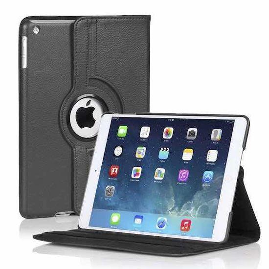 Case2go 360 graden draaibare hoes voor de Ipad 2/3/4 - Zwart