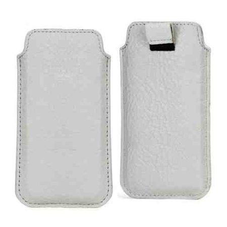 Huismerk Universele iPhone sleeve wit