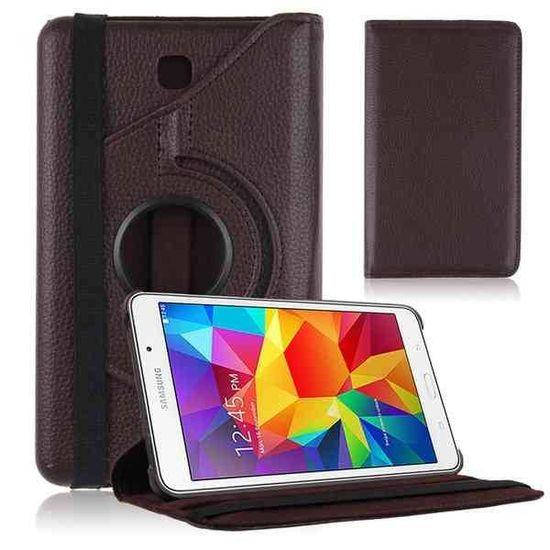 Case2go Draaibare hoes voor de Samsung Galaxy Tab 4 7.0 - Bruin
