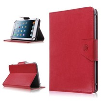 7 inch tablet hoes rood - universeel