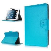 7 inch tablet hoes licht blauw - universeel