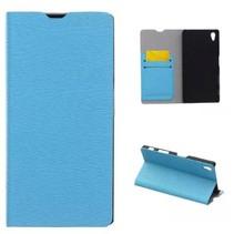 Book Case voor Sony Xperia Z5 - Licht Blauw