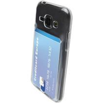 Mobiparts Smart TPU Case Samsung Galaxy J1 Transparant