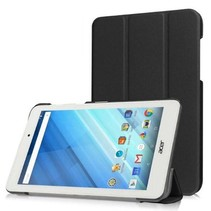 Acer Iconia One 7 B1-770 Tri-Fold Book Case Zwart
