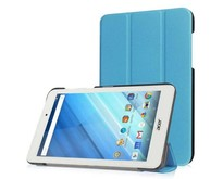 Acer Iconia One 7 B1-770 Tri-Fold Book Case Licht Blauw