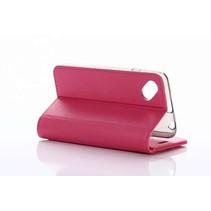 Wiko Sunset 2 Wallet Case Magenta