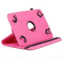 Universele 8 inch tablet hoes - 360 graden draaibaar - Magenta