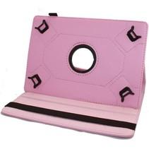 9 inch tablet hoes 360 graden draaibaar Roze
