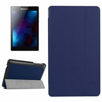 Lenovo Tab 3 7 Essential Tri-Fold Book Case Donker Blauw
