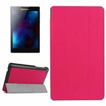 Lenovo Tab 3 7 Essential Tri-Fold Book Case Magenta