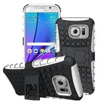 Samsung Galaxy S7 Edge G935 Schokbestendige Back Cover Wit
