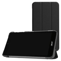 Acer Iconia One 7 B1-780 Tri-Fold Book Case Zwart