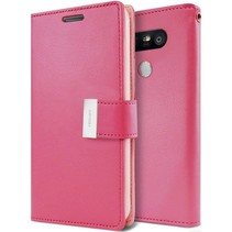 LG G5 Rich Diary Wallet Case Magenta
