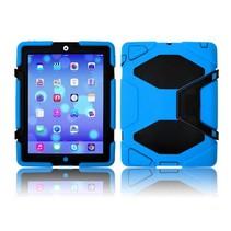 iPad 2,3,4 Extreme Armor Case Licht Blauw