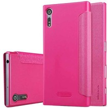 Nillkin Sparkle Series Leather Case voor Sony Xperia XZ - Roze