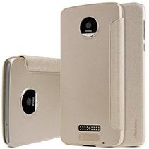 Nillkin Sparkle Series Leather Case Motorola Moto Z - Goud