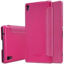 Nillkin Sparkle Series Leather Case voor Sony Xperia XA Ultra - Roze