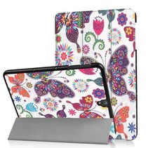 Samsung Galaxy Tab S3 9.7 Tri-Fold Book Case Colorfull Butterfly