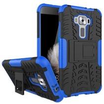 Asus Zenfone 3 5.2 ZE520KL - Schokbestendige Back Cover Blauw
