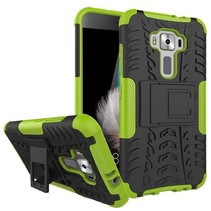 Asus Zenfone 3 5.2 ZE520KL - Schokbestendige Back Cover Groen
