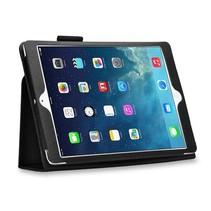 iPad 9.7 - Litchi Flip hoes - Zwart