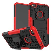 Huawei P8 Lite 2017 - Schokbestendige Back Cover Rood