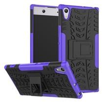 Schokbestendige Back Cover voor Sony Xperia XA1 Ultra - Paars