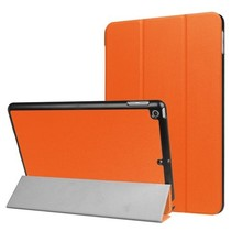 iPad 9.7 - Tri-Fold Book Case - Oranje