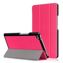 Lenovo Tab 4 8.0 - Tri-Fold Book Case - Magenta