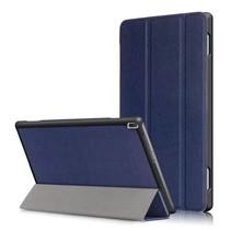 Lenovo Tab 4 10 - Tri-Fold Book Case Donker Blauw