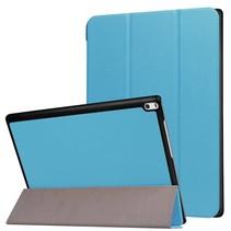 Lenovo Tab 4 10 - Tri-Fold Book Case Licht Blauw