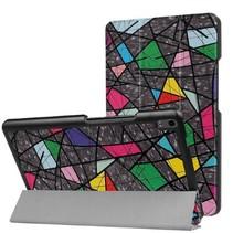 Lenovo Tab 4 8.0 Plus - Tri-Fold Book Case - Retro