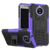 Motorola Moto G5s - Schokbestendige Back Cover Paars