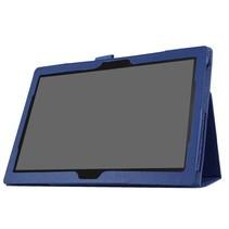 Lenovo Tab 4 10 - flip hoes donker blauw